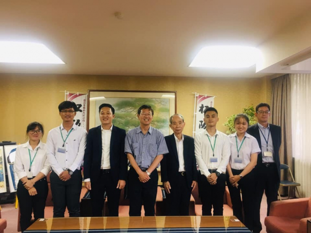 UIT delegation and MEC leader visit Matsusaka city Mayor
