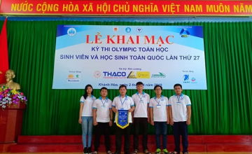 UIT's students attained 07 prizes in  the Olympic's National Mathematics Competition