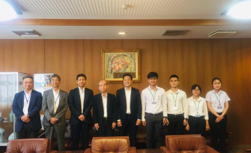 UIT Students were given wonderful opportunities to enjoy  their internship in Japan