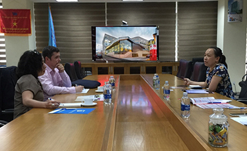 University of Information Technology meet and discuss the collaborative opportunities with the University of Tasmania