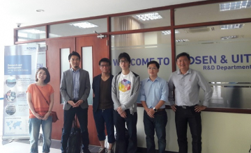 Discussing with Japnese company about recruitment opportunities