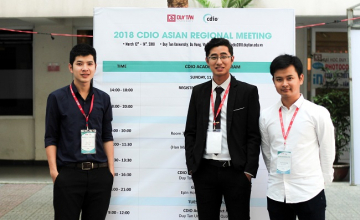 Computer Engineering students won the second prize of the CDIO Academy