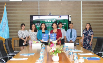 University of Information Technology signed an agreement  with IIG Vietnam
