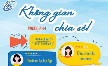 """Khong gian chia se UIT"" Room began its official operation"