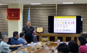 Trường ĐH CNTT đã tiếp đón và trao đổi hợp tác với Tập đoàn ITI